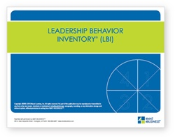 Leadership Behavior Inventory (Pack of 25)